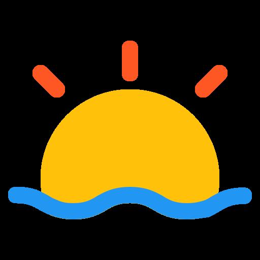 forecast, sun, sunrise, sunset, weather icon