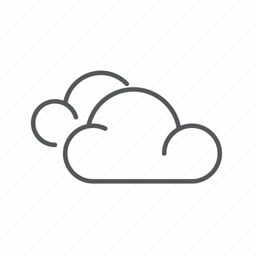 clouds, forecast, weather icon
