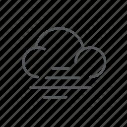 foggy, forecast, weather icon