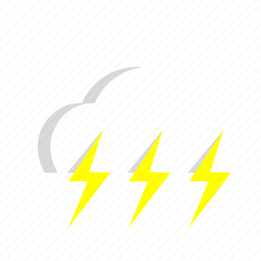 Cloud, thunderstorm, weather icon - Download on Iconfinder