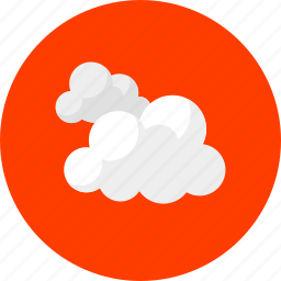 clouds, cloudy, forecast, weather, white clouds icon