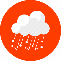 cloudy, forecast, hail, hailstone, icestorm, weather icon