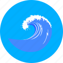 marine, nautical, sea, surf, surge, water, wave icon
