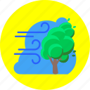 forecast, storm, tempest, weather, wind, windstorm, windy icon