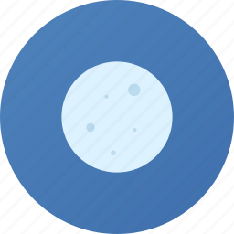 moon, weather icon