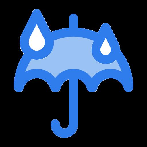 drops, forecast, rain, rainy, umbrella, water, weather icon