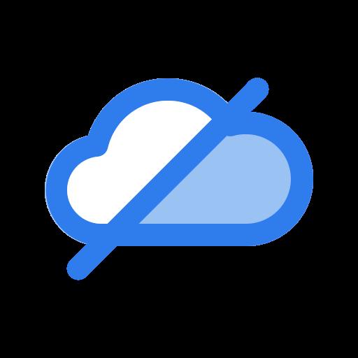 block, cloud, data, forbidden, interface, user, weather icon