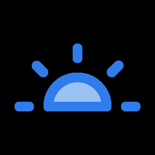 forecast, holiday, rise, summer, sun, sunset, weather icon