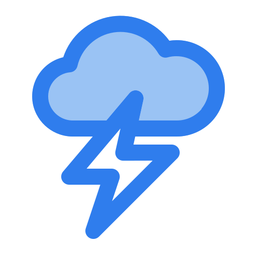 bolt, cloud, flash, lightning, storm, thunder, weather icon