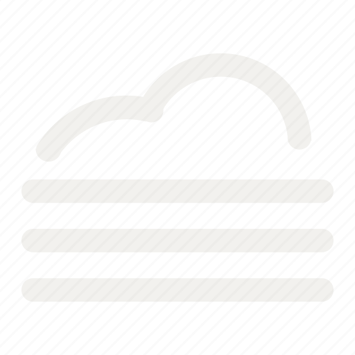 bodeline, fog, forecast, haze, smog, smoke, weather icon