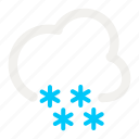 cloud, cloudy, forecast, heavy, snow, snowy, weather