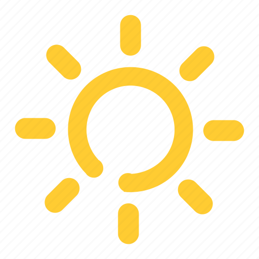 bodeline, cloud, cloudy, forecast, sun, sunny, weather icon