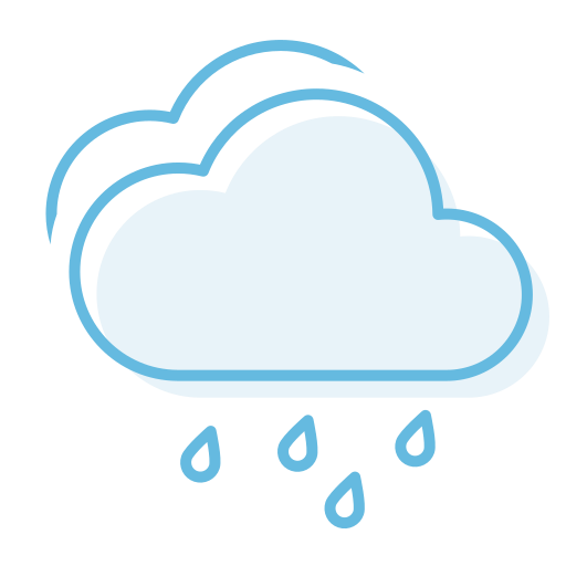 cloudy, havyrain icon