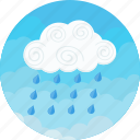 clouds, cloudy, forecast, rain, raining, sky, weather icon