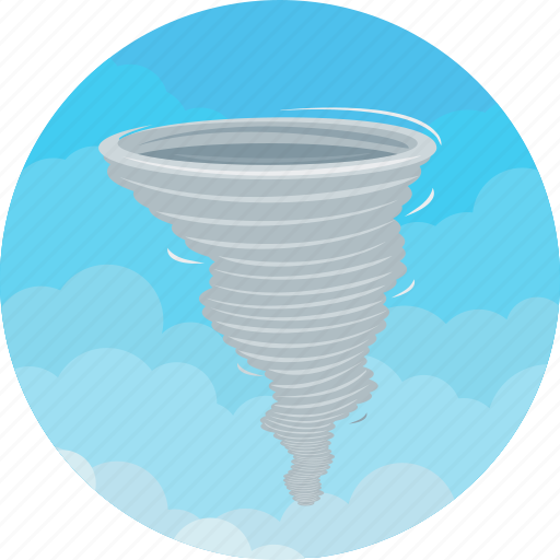 disaster, hurricane, power, storm, tornedo, weather, wind icon