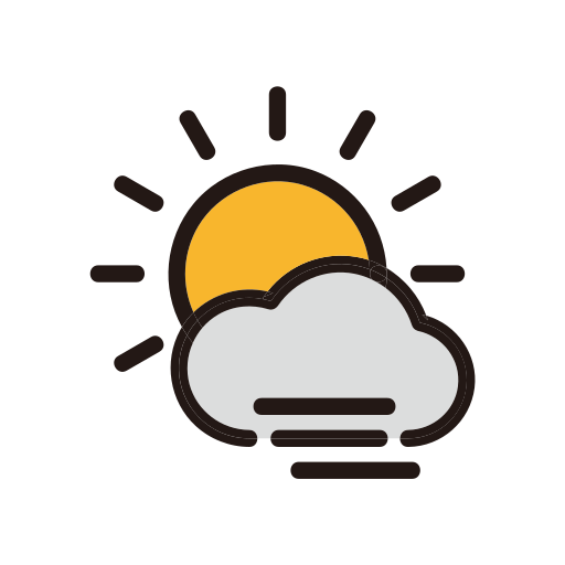 clouds, fog, foggy, weather icon