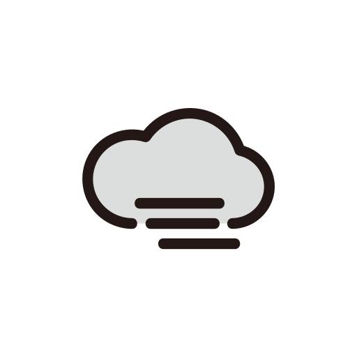 clouds, cloudy, fog, foggy, weather icon