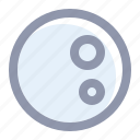 climate, full, moon, night, weather icon