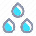 climate, drop, forecast, rain, water, weather icon