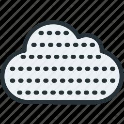 fog, haze, weather icon