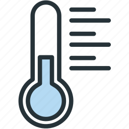 thermometer, weather icon
