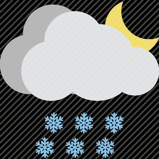 heavy rain, night raining, raincloud, raining, weather icon