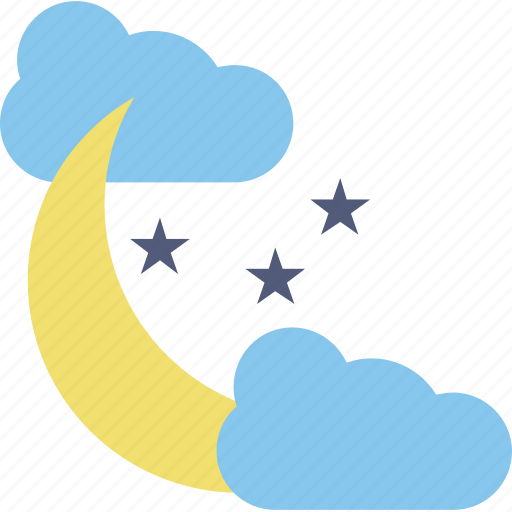 climate, cold night, forecast, night cold weather, weather icon