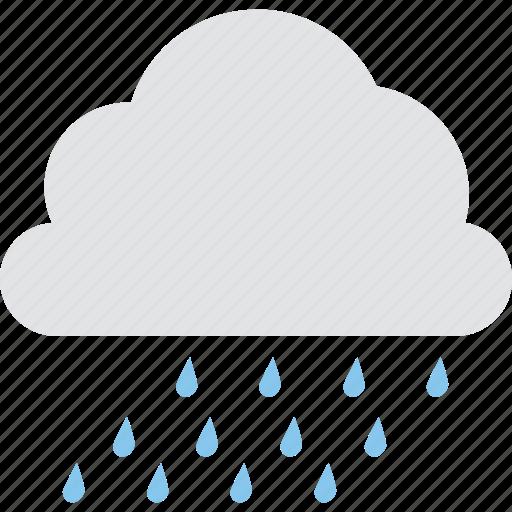cloud raining, forecast, raining, rainy weather, weather icon
