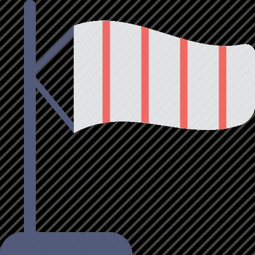 airsock, meteorology, wind cone, wind sleeve, windsock icon