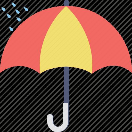 open umbrella, parasol, protection, rain protection, umbrella icon