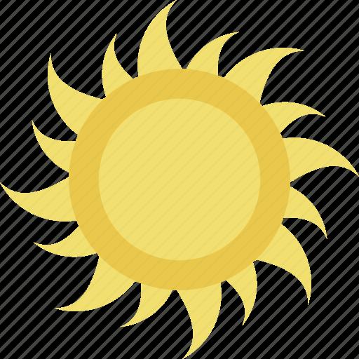 bright day, hot day, sun, sunny day, sunshine icon