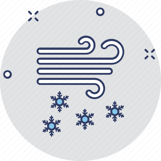 cold weather, snow falling, weather, weather forecast, winters icon