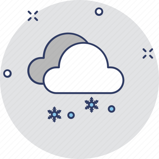 cloudy day, cold day, foggy day, morning, weather icon