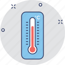 celsius, fahrenheit, temperature, temperature tool, thermometer icon