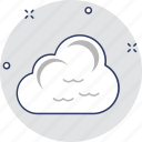 clouds, cloudy weather, puffy clouds, sky clouds, weather icon