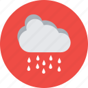 cloud raining, forecast, heavy raining, rainy weather, weather icon
