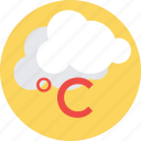 celsius, centigrade, meteorology, temperature, temperature conversion icon