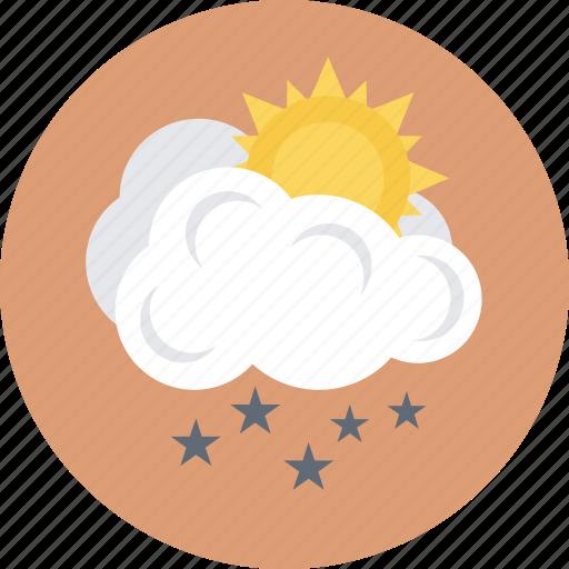 raining, rainstorm, rainy day, sunny rain, weather forecast icon