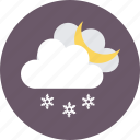 air element, meteorology, weather, wind blowing, windy day icon