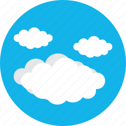 clouds, puffy clouds, sky clouds, weather icon