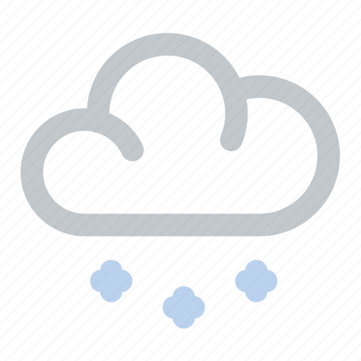 cloud, cold, snow, snowy, weather, winter icon
