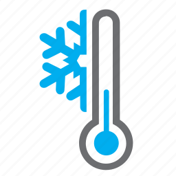 cold, mercury, snowflake, temperature, thermometer, weather, winter icon