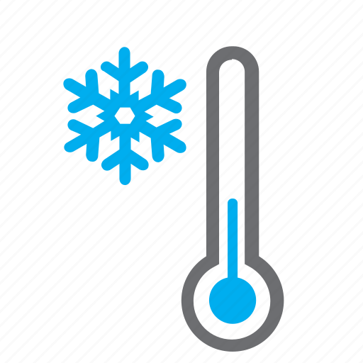 cold, mercury, snowflake, temperature, thermometer, weather, winter icon