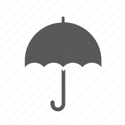 meteorology, rain, umbrella, weather icon