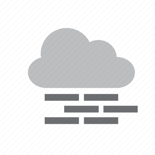 cloud, cloudy, fog, meteorology, mist, weather icon