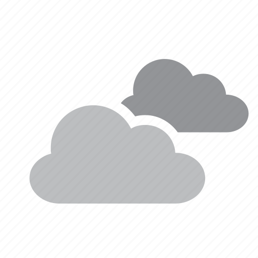 clouds, cloudy, meteorology, weather icon