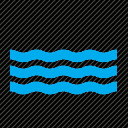 meteorology, ocean, pool, sea, swimming, water, weather icon