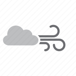 cloud, cloudy, meteorology, weather, wind icon