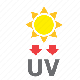 meteorology, ray, summer, sun, ultraviolet, uv, weather icon
