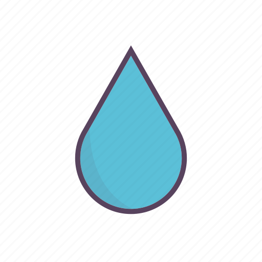 cloudy, teardrop, umbrella, waterdrop icon